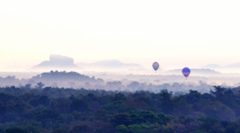Hot Air Ballooning Sri Lanka, Hot air ballooning excursion Sri Lanka by Sri Lanka Day tours