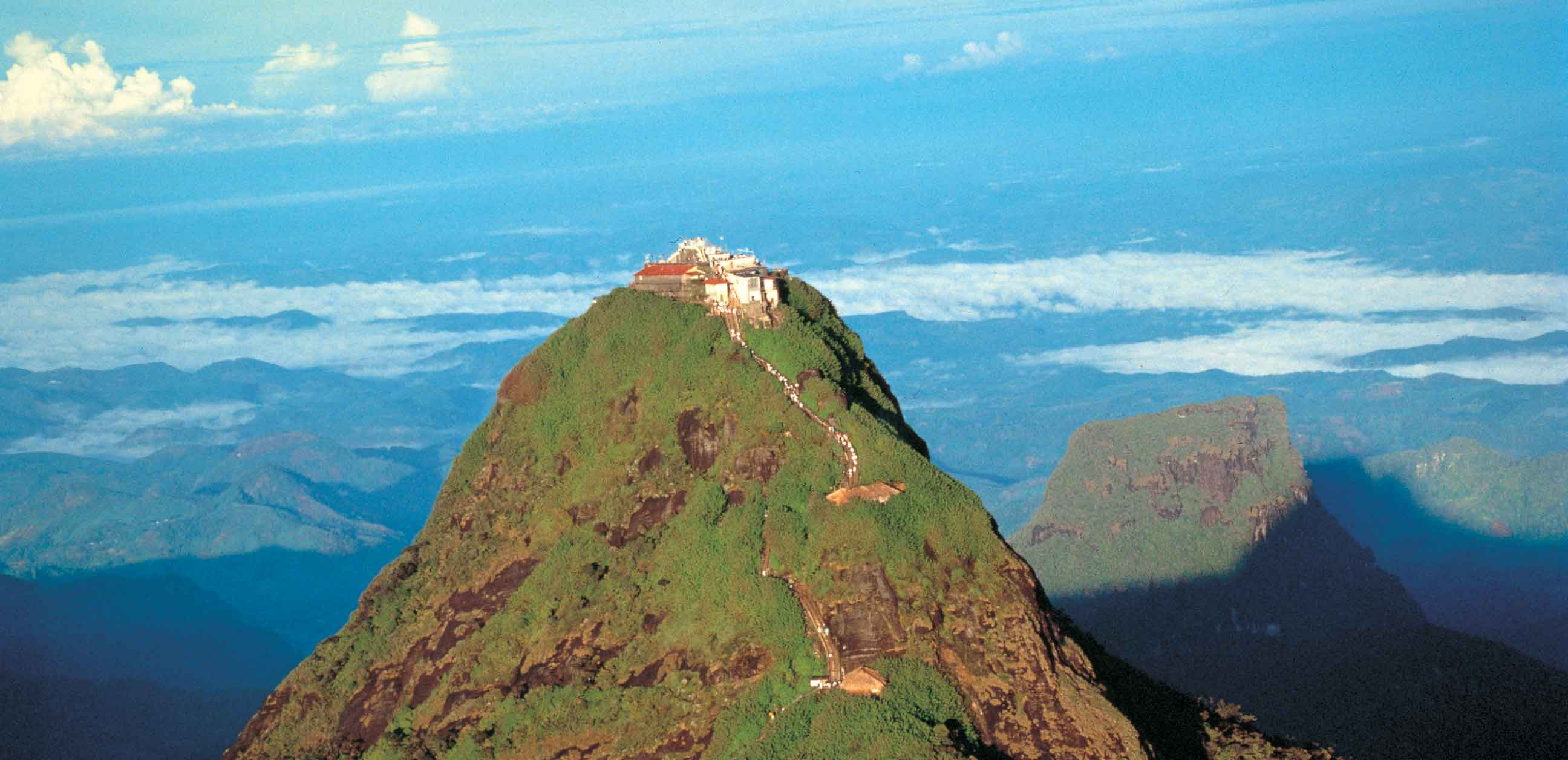 trekking adams peak