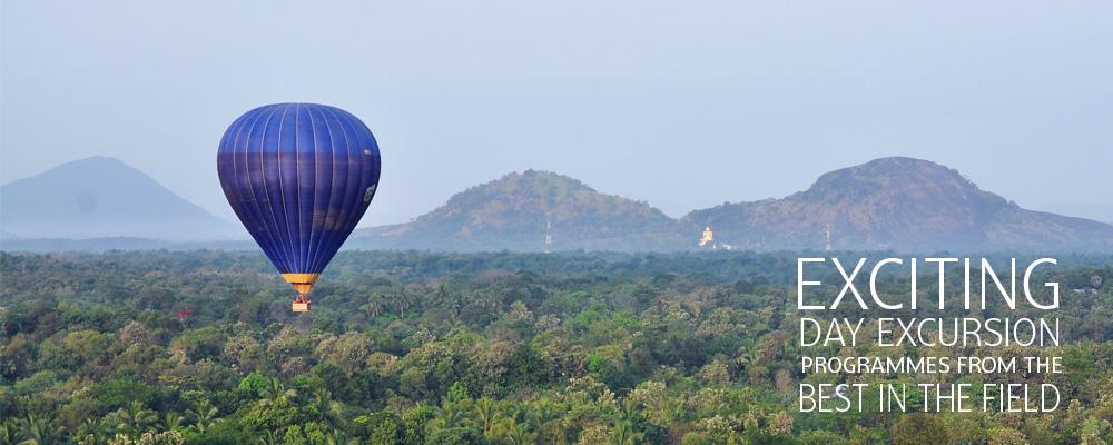 Hot air Ballooning Sri Lanka with Sri Lanka Day Tours