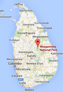 Wasgamuwa National Park Map Day Tours Sri Lanka - ...