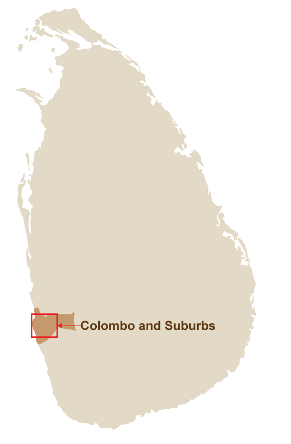 colombo and suburbs